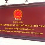 Photo taken at Embassy of the Socialist Republic of Vietnam (สถานทูตเวียดนาม) by R,,,, B. on 10/22/2014