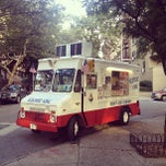 Photo taken at Kustard King Soft Ice Cream Truck by Conrad D. on 8/17/2013
