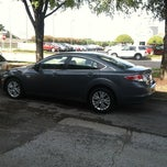 Photo taken at Town North Mazda by Brandon on 10/1/2012