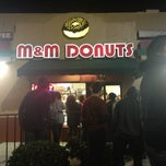 Photo taken at M&M Donuts by Jessica K. on 1/4/2013