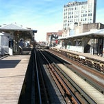Photo taken at CTA - Damen by iSapien 1. on 2/20/2013