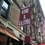 Photo taken at Thompson Wine & Spirits by Lea G. on 12/24/2012