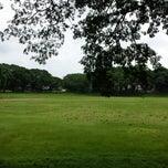 Photo taken at Sunken Garden by Mon F. on 6/30/2013