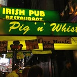 Photo taken at Pig 'n Whistle by Aurélien P. on 3/17/2013