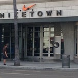 Photo taken at Niketown Los Angeles by fuyu ガ. on 10/6/2012