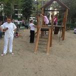 Photo taken at Playground by Gabriela R. on 8/7/2013