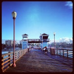 Photo taken at Oceanside Pier by Rita S. on 12/30/2012