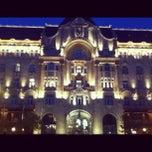 Photo taken at Four Seasons Hotel Gresham Palace Budapest by Teoman E. on 11/10/2012