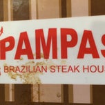 Photo taken at Pampas Brazilian Steak House by Jeff H. on 1/1/2014