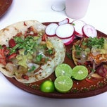 Photo taken at Tacos Richard by Alvaro M. on 11/21/2012