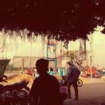 Photo taken at Cà Phê Phòng Vé Cảng Sa Kỳ by Nowhere A. on 10/22/2013