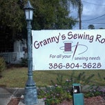 Photo taken at Grannys Sewing Room by Bobby B. on 11/6/2012