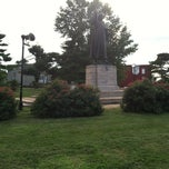 Photo taken at Martin Luther Monument by Jeavonna C. on 7/25/2013