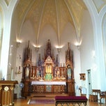 Photo taken at St. Mary of Pine Bluff Catholic Church by Padre P. on 8/25/2013