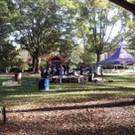 Photo taken at Furman Quad (Mall) by David T. on 10/19/2012