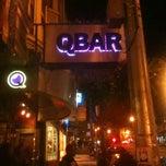 Photo taken at QBar by Alberto on 1/3/2013