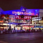 Photo taken at STAPLES Center by Jamison N. on 5/1/2013