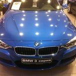 Photo taken at BMW Евросиб Сервис by Ilya on 10/10/2012