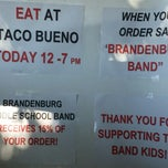 Photo taken at Taco Bueno by Marianthe V. on 8/12/2014