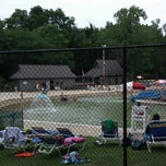 Photo taken at Harold Hall Quarry Beach by Eric P. on 7/5/2014