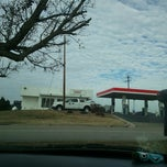 Photo taken at Exxon by Aiden B. on 1/10/2013