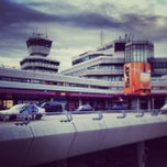 Photo taken at Berlin-Tegel Airport Otto Lilienthal (TXL) by Michael P. on 8/16/2013
