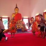 Photo taken at วัดพุทธมงคลนิมิตร (Wat Buddhamongkolnimit) by Olesya B. on 1/18/2015