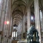 Photo taken at St. Sebald by Sergey Z. on 9/17/2012