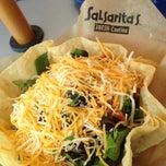 Photo taken at Salsarita's by Larissa R. on 8/29/2013
