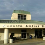 Photo taken at Modesto Amtrak (MOD) by Jim H. on 1/23/2013