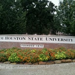 Photo taken at Sam Houston State University by Dhwani C. on 9/16/2012