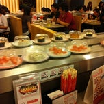Photo taken at Sushi King by Andrea L. on 10/4/2012