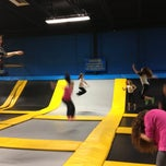 Photo taken at Bounce Trampoline Sports by Lola M. on 1/12/2013