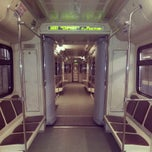 Photo taken at Метро Фили (metro Fili) by Marina P. on 3/25/2013