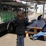 Photo taken at La Merced Taco Truck by Amy H. on 4/15/2013