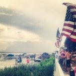 Photo taken at Blu Restaurant & Bar by Leslie I. on 6/30/2013