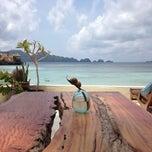 Photo taken at Misool Eco Resort (MER) by Carlos T. on 10/6/2014