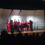 Photo taken at Sherando High School by Laura J. on 12/18/2013