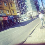 Photo taken at Rua 24 de Maio by Thomas B. on 4/20/2013