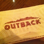 Photo taken at Outback Steakhouse by Omar C. on 3/17/2013