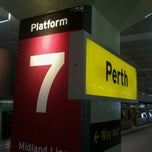Photo taken at Perth Station by Ben Woodward's B. on 3/22/2013