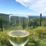 Photo taken at Boscareto Resort & Spa Serralunga d'Alba by Konstantin N. on 7/30/2014