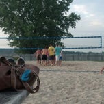 Photo taken at circle b volleyball shed by Jake H. on 8/16/2012