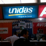 Photo taken at Unidas Rent a Car by Leandro M. on 3/21/2013