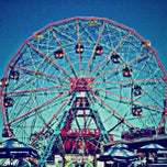 Photo taken at Deno's Wonder Wheel by tom c. on 5/27/2013