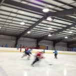 Photo taken at Glacier Ice Rink by Jeff D. on 3/13/2013