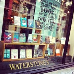 Photo taken at Waterstones by Kelly B. on 4/17/2013