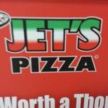 Photo taken at Jet's Pizza by Thomas O. on 12/25/2013
