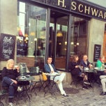 Photo taken at Teecafé Schwarzenbach by Sandro B. on 9/13/2014