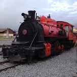 Photo taken at Estación de Tren Chimbacalle by Gaby A. on 2/22/2013
